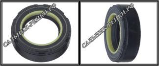 F-00258 Сальник вала рулевой рейки 26*41*12,5 (7) аналог 462.HD258; HA0865;Применяется в рулевых рейках и насосах автомобилей MITSUBISHI GALANT V -VI (1992-2004)