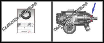 F-00424 Сальник редуктора 35*47*7/8,5 (1PM) аналог 442.HD424; HA0300;Применяется в рулевых рейках и насосах автомобилей MERCEDES S-CLASS (C140,W140) (1991-1999)