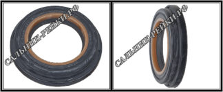 F-00485 Сальник вала рулевой рейки 25*37,8/41,24*4,4/7,3 (6) аналог 152.HD485; HA0601;Применяется в рулевых рейках и насосах автомобилей CHRYSLER,DODGE