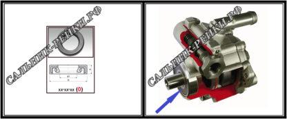F-00554 Сальник насоса 21*32*7 (0M2) аналог 262.HD554; HA0078;