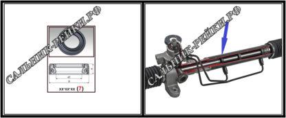 F-00754 Сальник вала рулевой рейки 28*39*15 (7V2) аналог 095.PS754; HA0972;Применяется в рулевых рейках и насосах автомобилей MERCEDES,AUDI,BMW,VOLVO XC 90 I