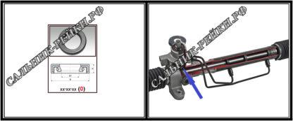 F-00937 Сальник нижний распределителя 27,5*38*5/5,2 (0M) аналог 482.HD937; HA0411;Применяется в рулевых рейках и насосах автомобилей INFINITI G25/35/37,INFINITI M III 35/45 (Y50