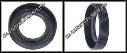 F-01006 Сальник вала рулевой рейки 32*55*14,5 (7V3) аналог 142.HD1006; HA1002;Применяется в рулевых рейках и насосах автомобилей CADILLAC ESCALADE III,CHEVROLET TAHOE
