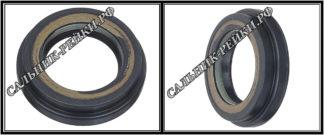 F-01042 Сальник вала рулевой рейки 25*37,7/41,24*5,8/9,5 (6V1) аналог 152.HD1042; HA0583;Применяется в рулевых рейках и насосах автомобилей DODGE CALIBER,JEEP COMPASS