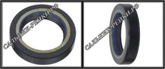 F-01069 Сальник вала рулевой рейки 29*42*8,5 (7V1) аналог 435.HD1069; HA0752;Применяется в рулевых рейках и насосах автомобилей MAZDA CX-9 (TB) (2007-2012)