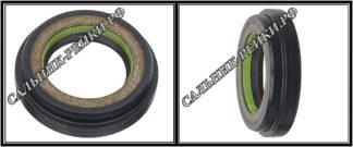 F-01222 Сальник вала рулевой рейки 25*37,8/41,6*4,5/9,6 (6V1) аналог 462.HD1222; HA1200;Применяется в рулевых рейках и насосах автомобилей MITSUBISHI LANCER X,MITSUBISHI OUTLANDER II