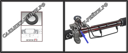 F-01343 Сальник нижний распределителя 25*35,4*6,5/7,5 (1PM) аналог 372.HD1343; HA1391;Применяется в рулевых рейках и насосах автомобилей KIA CERATO,DODGE DURANGO III,JEEP GRAND CHEROKEE IV,OPEL MOKKA