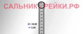O-02741 Резиновое кольцо (Оринг) 2,05*18,00