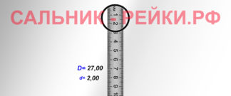 O-02766 Резиновое кольцо (Оринг) 2,05*27,00