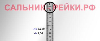 O-02820 Резиновое кольцо (Оринг) 2,45*25,00
