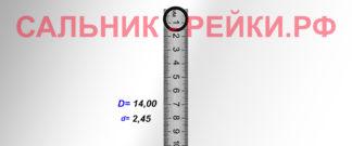 O-02826 Резиновое кольцо (Оринг) 2,45*14,00