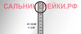 O-02830 Резиновое кольцо (Оринг) 2,45*32,00