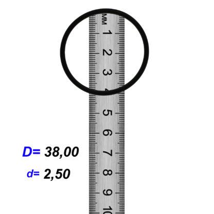 O-02855A Резиновое кольцо (Оринг) 2,45*38,00