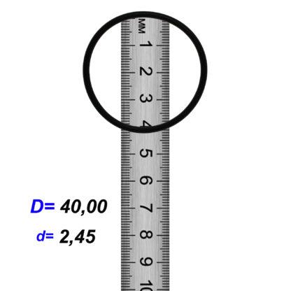 O-02856B Резиновое кольцо (Оринг) 2,45*40,00