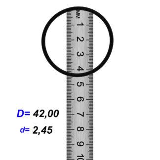 O-02857A Резиновое кольцо (Оринг) 2,45*42,00