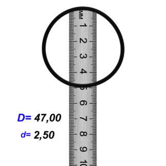 O-02859 Резиновое кольцо (Оринг) 2,45*47,00