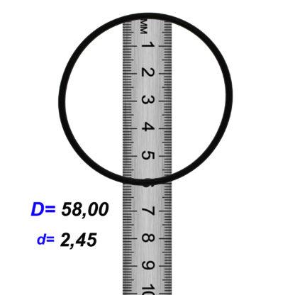 O-02862 Резиновое кольцо (Оринг) 2,45*58,00