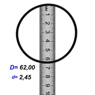 O-02863A Резиновое кольцо (Оринг) 2,45*62,00