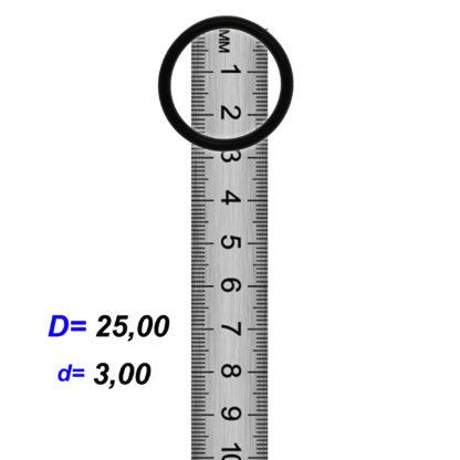 O-02911 Резиновое кольцо (Оринг) 3,05*25,00