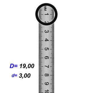 O-02919 Резиновое кольцо (Оринг) 3,05*19,00