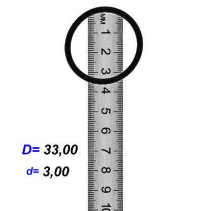 O-02923A Резиновое кольцо (Оринг) 3,05*33,00