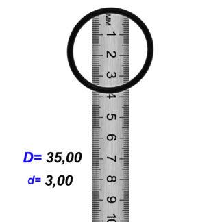 O-02924A Резиновое кольцо (Оринг) 3,05*35,00
