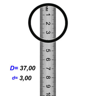 O-02925A Резиновое кольцо (Оринг) 3,05*37,00