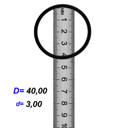 O-02927 Резиновое кольцо (Оринг) 3,05*40,00