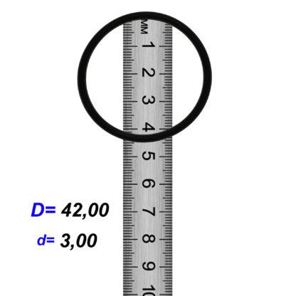 O-02928 Резиновое кольцо (Оринг) 3,05*42,00