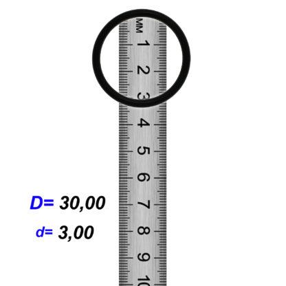 O-02929 Резиновое кольцо (Оринг) 3,05*30,00
