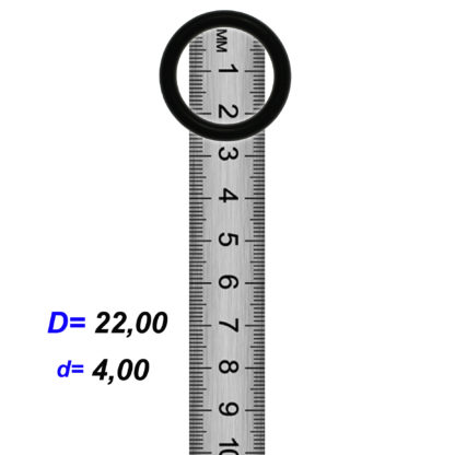 O-03010 Резиновое кольцо (Оринг) 4,10*22,00