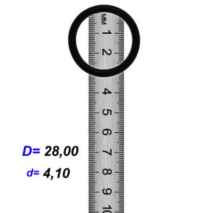 O-03018 Резиновое кольцо (Оринг) 4,10*28,00